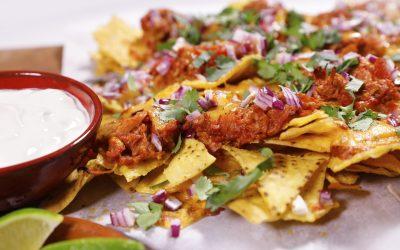 Fully Loaded Mexicana® Pulled Pork Nachos