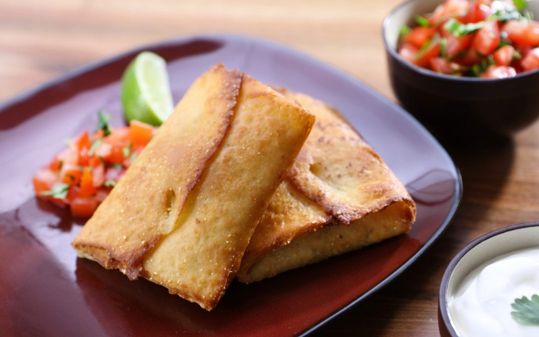 Spicy Mexicana Chimichangas